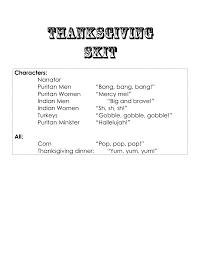 thanksgiving skit pdf give thanks thanksgiving