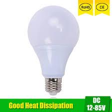 24v led light bulb led bulbs dc 12v 24v 36v 48v e27 3w 6w 9w 12w 15w led l 6000k smd