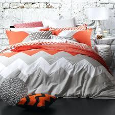 Comforter Orange Orange And Gray Orange And Grey Bedding Uk Orange And Grey Bedding
