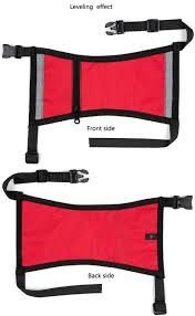 outdoor reflective service dog harness nylon pet dog training vest
