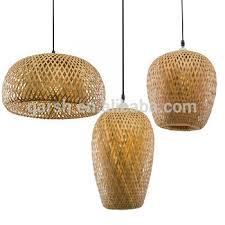 Bamboo Ceiling Light Modern Handmade Rattan Bamboo Pendant L View Handmade Pendant