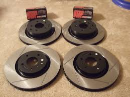 nissan altima brake pads brembo equipped centric rotors and stop tech street pads review