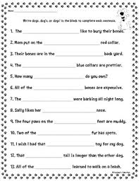 free plural possessive noun poster and worksheet by teacher u0027s take out
