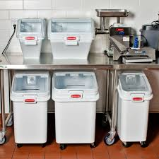 Rubbermaid Storage Bench Bakery Flour Storage Bins U2022 Storage Bins