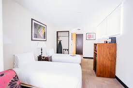 Two Twin Beds by Explore Stay Hotel Waikiki Oahu Hawaii