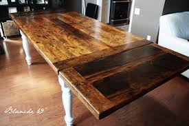 how to finish a table top with polyurethane another option for our reclaimed harvest tables blog