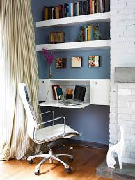 Office Shelf Decorating Ideas Home Office Ideas Working From Home In Style