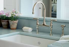 kitchen bridge faucet plumbing fixture envy velvet linen