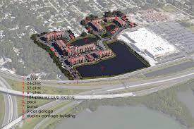 8 Plex Apartment Plans The Courtney At Bay Pines Charlan Brock Associates
