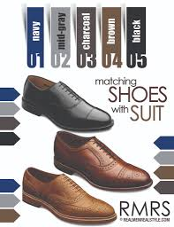 matching dress shoes with suits match a shoe with any