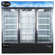 glass door commercial refrigerator saba air refrigerator heavy duty three glass door refrigerator
