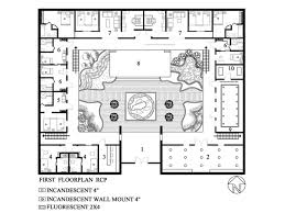 Courtyard Plans by Small Courtyard House Plans Arts