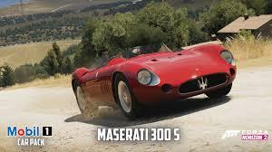 maserati 300s forza horizon 2 1957 maserati 300 s gameplay mobil 1 car pack