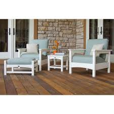 White Plastic Patio Table by Plastic Patio Furniture Blue Patio Furniture Outdoors The