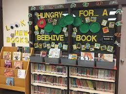 library spotlight beginning the year displays