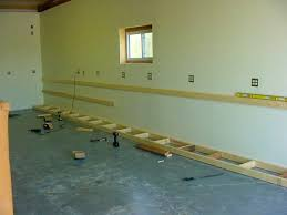 Building Wood Garage Shelves by Bathroom Good Looking Learn How Build Cabinet These Plans
