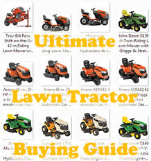 best riding mower reviews review lawn tractors side by side