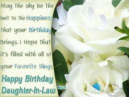 birthday wishes for daughter in law birthday images pictures