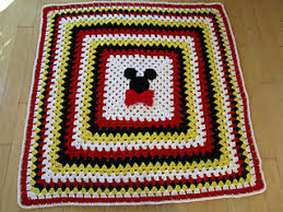 Mickey Mouse Rugs Carpets Ravelry Mickey Mouse And Minnie Mouse Crochet Blanket Pattern By