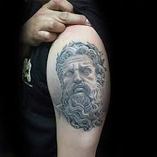 60 roman statue tattoo designs for men stone ink ideas