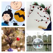 Charlie Brown Christmas Tree Decorations by Charlie Brown Christmas 24 Crafts Recipes U0026 Activities For Kids