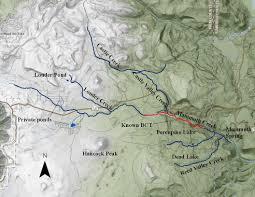 Mammoth Map Cutthroat Restoration Mammoth Creek Iron County Government