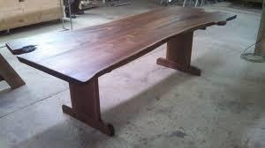 Walnut Live Edge Table by Black Walnut Live Edge Table Woodrich Pa