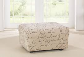 Ottoman Cover Ottoman Slipcovers Sure Fit Home Decor
