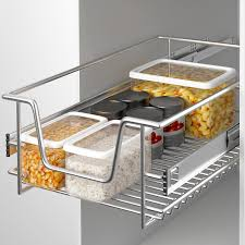 panier cuisine coulissant panier de rangement coulissant cuisine meuble pour placard étagère