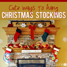 diy decor for holiday stockings with or without a fireplace mantle