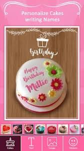 name on birthday cake photo on birthday cake android apps on