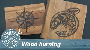 pyrography wood burning for beginners youtube