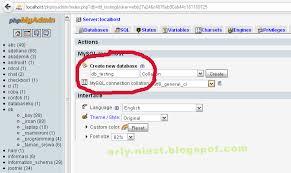 membuat database akademik dengan mysql kyouprecatun kenapa xp error saat membuat database
