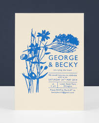 printed wedding invitations 30 amazing letterpress screen printed designs