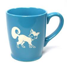 fox mug u2013 bread and badger gifts