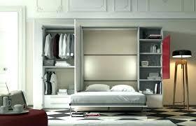 lit escamotable canapé armoire lit escamotable lit avec placard integre canape lit armoire