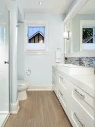 nice bathroom ideas with contemporary white freestanding bathtub