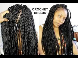 braids crochet no cornrows crochet braids only 1 hour tutorial