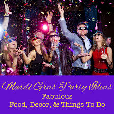 mardi gras things mardi gras party ideas fabulous food decor things to do
