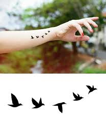 Bird Flying Tatoo