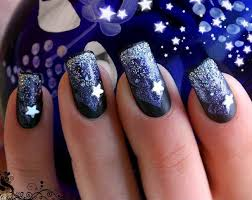 glitter nail designs for shiny hands yve style com