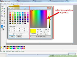 paint software how to shade in microsoft paint with pictures wikihow