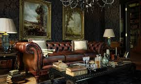 chesterfield sofa in living room cool room designs stylish bachelor pad inspiration british