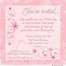 wedding wishes exles chic winter baptism invitation snowflake cross event
