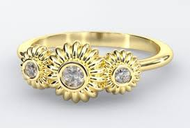 engagement rings flower design floral rings find your flower engagement ring