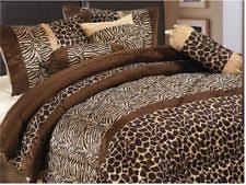 Giraffe Bed Set Giraffe Print Bedding Ebay