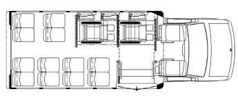 transit bus floor plans