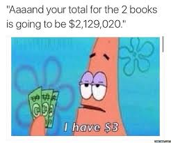 Buy All The Books Meme - 5 worst things about the first week on cus christiraichle