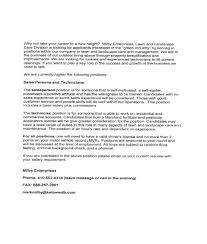 Salesperson Skills Resume Landscaping Duties On Resume Resume For Your Job Application