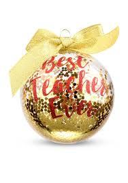 home accents 3 75 in u0027best teacher ever u0027 boxed ornament belk